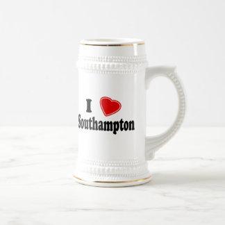 I Love Southampton Beer Stein