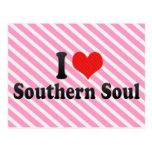I Love Southern Soul Post Cards