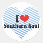 I Love Southern Soul Stickers