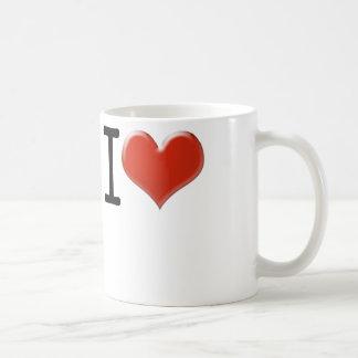 I Love souvenir Classic White Coffee Mug