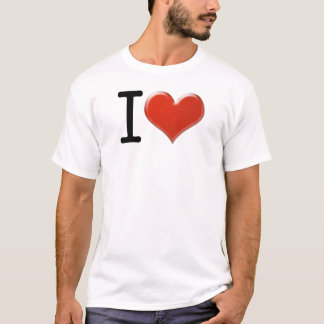 I Love souvenir T-Shirt