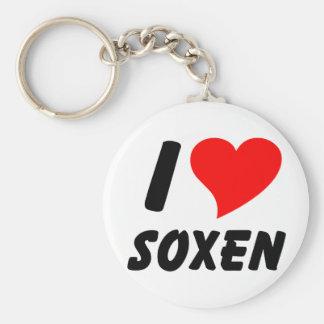 I love Soxen Keychain