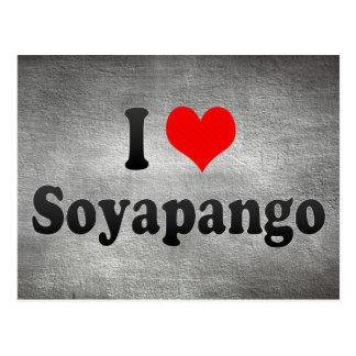 I Love Soyapango, El Salvador Postcard