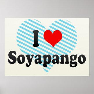 I Love Soyapango, El Salvador Poster