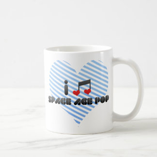 I Love Space Age Pop Mug