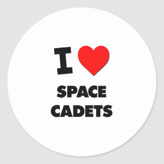 I love Space Cadets Stickers