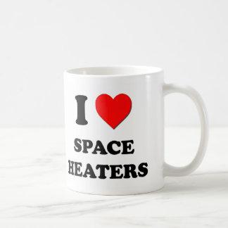 I love Space Heaters Coffee Mugs