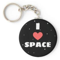 I love space keychain