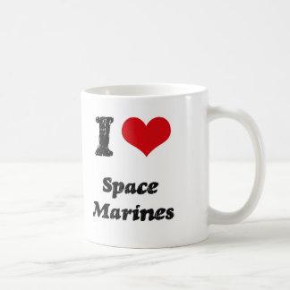 I Love SPACE MARINES Coffee Mug