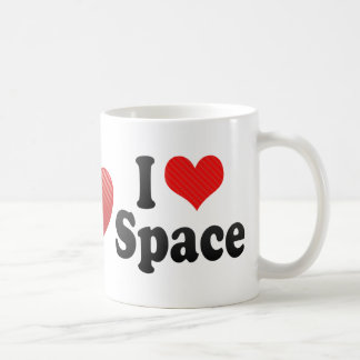I Love Space Coffee Mug