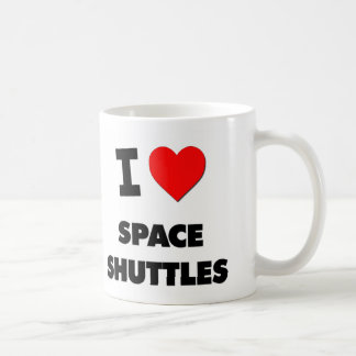 I love Space Shuttles Coffee Mugs