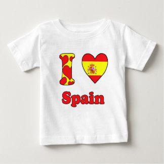 I love Spain Baby T-Shirt