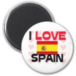 I Love Spain Fridge Magnets