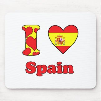 I love Spain Mouse Pads