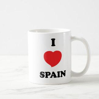 I LOVE Spain Classic White Coffee Mug