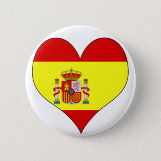 I Love Spain Pinback Button