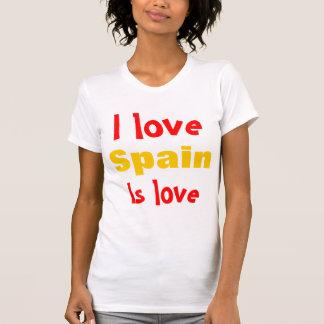 I love Spain T-shirts