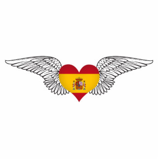 I Love Spain -wings Cut Out