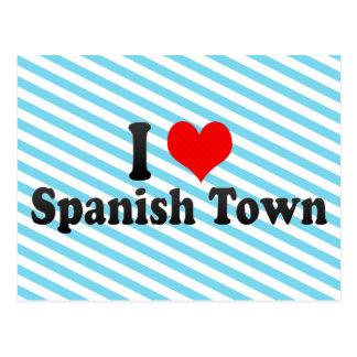 I Love Spanish Town, Jamaica Postcard
