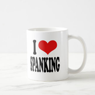 I Love Spanking Coffee Mug