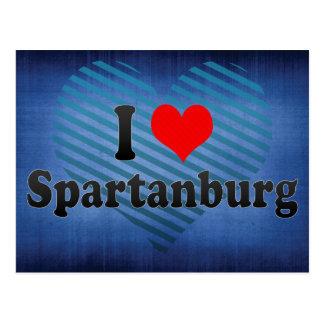 I Love Spartanburg, United States Postcard
