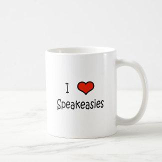 I Love Speakeasies Coffee Mug