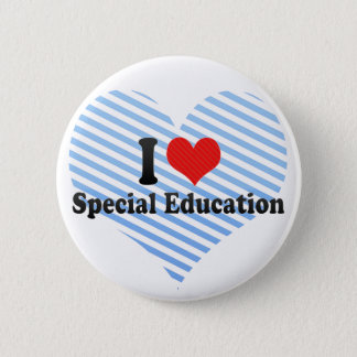 I Love Special Education Button