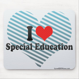 I Love Special Education Mousepads