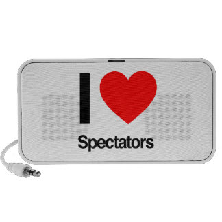 i love spectators speaker system