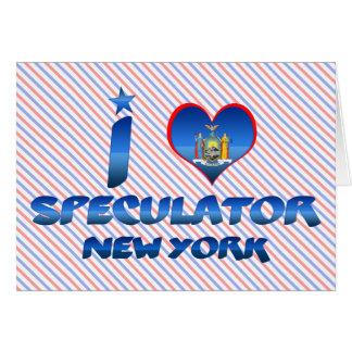 I love Speculator, New York Cards