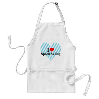 I love Speed Skiing Aprons