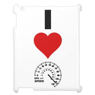 I Love Speed (Vertical) iPad Cases