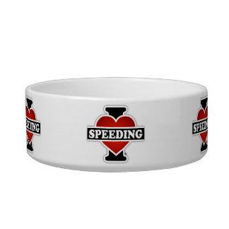 I Love Speeding Bowl