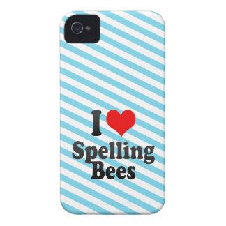 I love Spelling Bees Case-Mate Blackberry Case