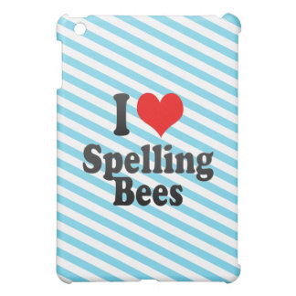 I love Spelling Bees Cover For The iPad Mini