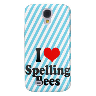 I love Spelling Bees Galaxy S4 Cover
