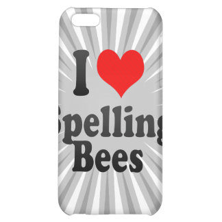 I love Spelling Bees iPhone 5C Covers