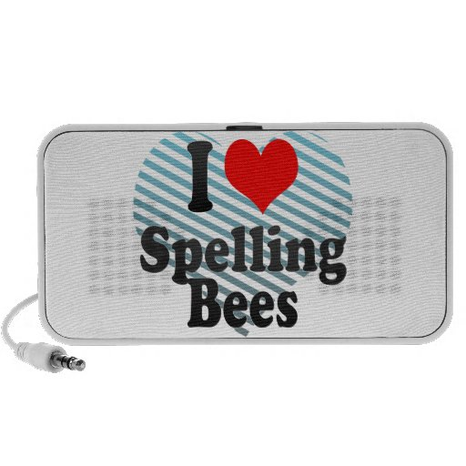 I love Spelling Bees PC Speakers