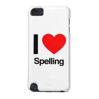i love spelling iPod touch (5th generation) cases