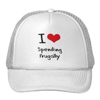 I Love Spending Frugally Trucker Hat
