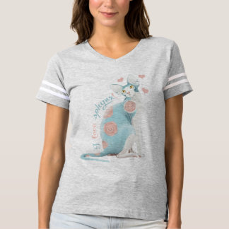I love sphynx! t-shirt