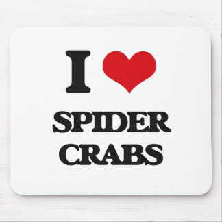 I love Spider Crabs Mouse Pad