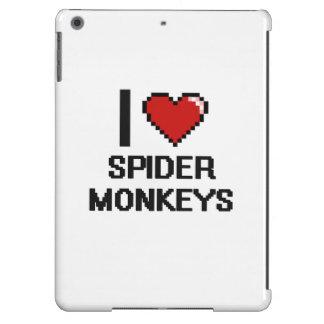 I love Spider Monkeys Digital Design Cover For iPad Air