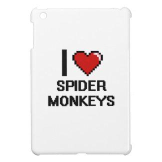 I love Spider Monkeys Digital Design iPad Mini Cover
