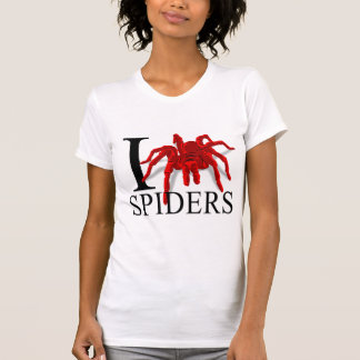 I Love Spiders T-shirts