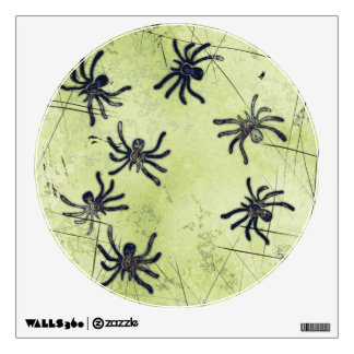 I LOVE SPIDERS Wall Decal