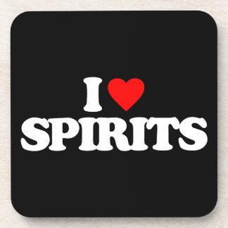 I LOVE SPIRITS COASTER