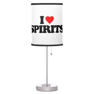 I LOVE SPIRITS LAMPS