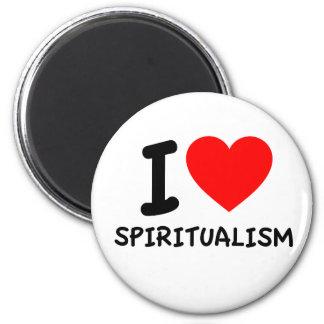 I Love Spiritualism Refrigerator Magnets