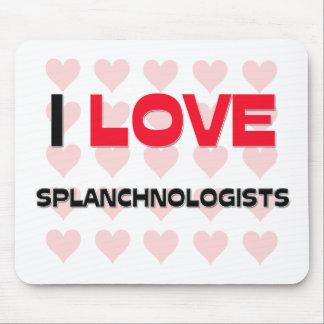 I LOVE SPLANCHNOLOGISTS MOUSE PAD